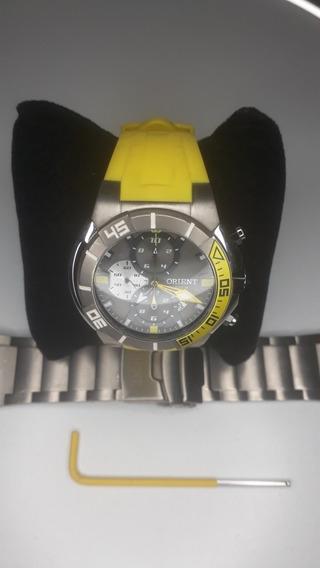 Relógio Orient Masculino Seatech Scuba Titanium