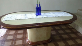 Mesa Para Sala De Jantar Sem As Cadeiras (8 Cadeiras).
