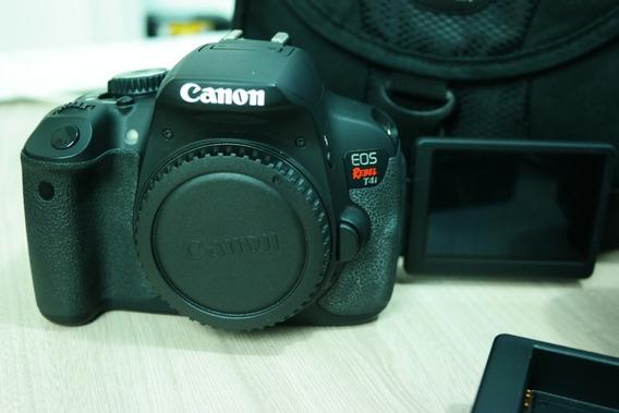 Câmera Canon Eos Rebel T4i Lente 18-55mm (fotos Reais)