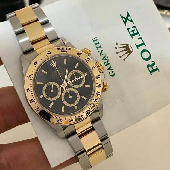Rolex Daytona Ouro & Aço Completo Novíssimo
