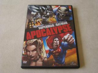 Dvd - Superman Batman Apocalypse