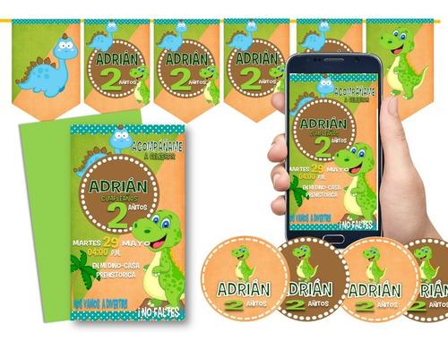 Imagen 1 de 1 de  Kit Imprimible  Dinosaurios