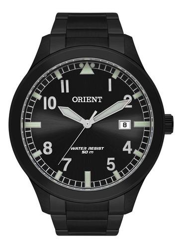 Relógio Orient Masculino Ref: Mpss1020 P2px Casual Black