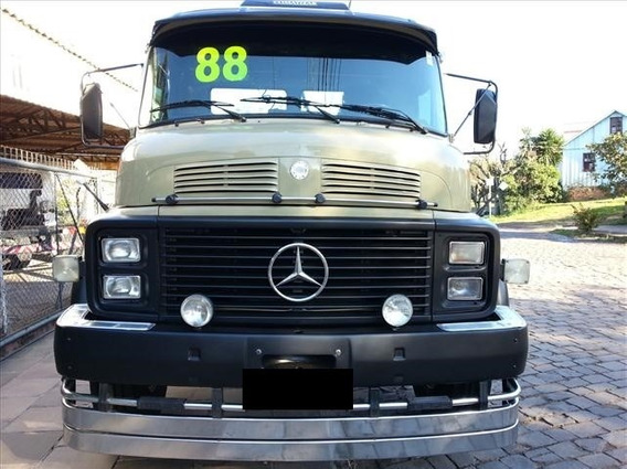 Mb 1518 Ano 87/88 Truck No Chassis