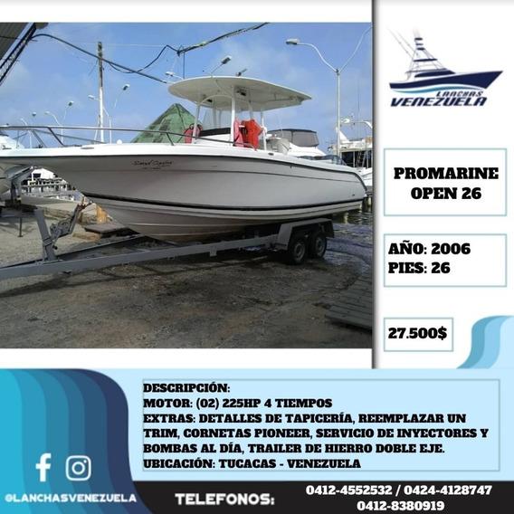 Lancha Promarine Open 26