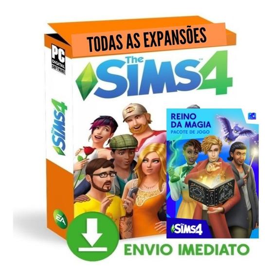 The Sims 4 Completo Reino Da Magia Envio Imediato.