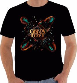 Camiseta P90 - Greta Van Fleet Banda Rock