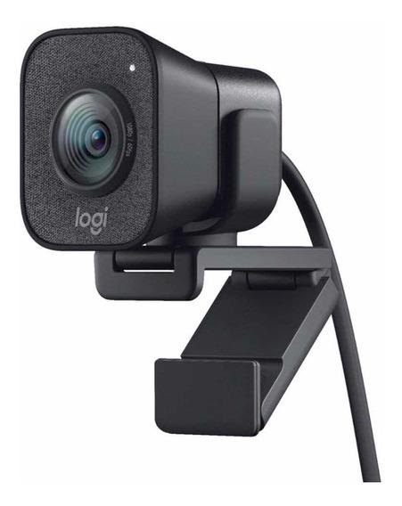 Webcam Streamcam Plus Logitech (pronta Entrega) (lançamento)