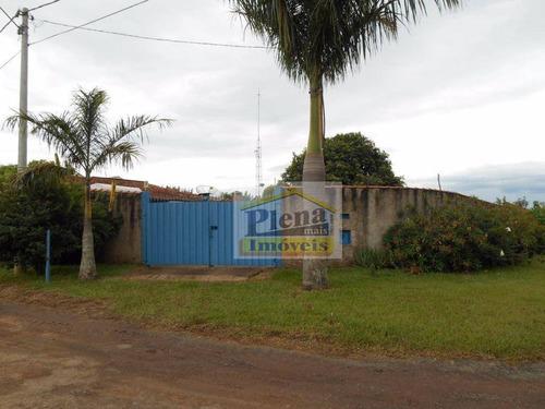 Imagem 1 de 24 de Chácara Residencial À Venda, Chácara Cruzeiro Do Sul, Sumaré. - Ch0075