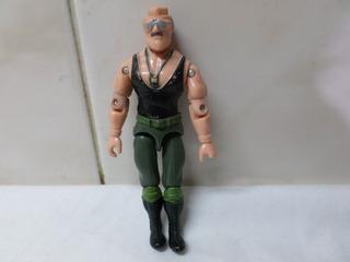 Gi Joe Sergeant Sgt Slaughter Hasbro 1986 Detalle