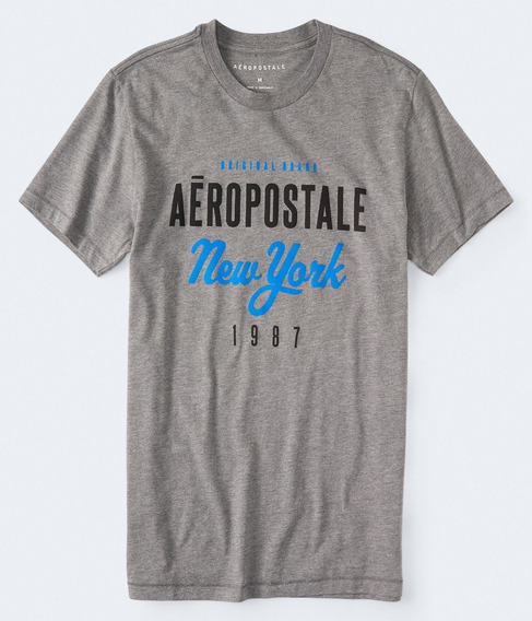 Camiseta Aeropostale New York Masculina Original