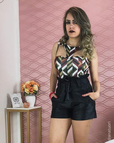 Body Feminino Várias Cores Decote Aberto Nas Costas Bd24