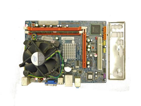 Kit Placa Ecs G41t-m7 Core 2 Duo E7500 2,93ghz 4gb Ddr3