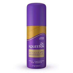 Retoque Inst Spray Koleston Cor Louro Escuro 100ml