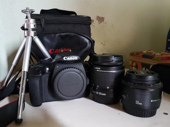 Canon T6+50mm+18-55mm