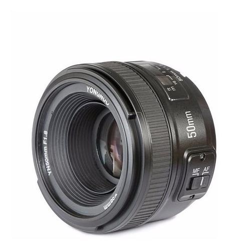 Imagem 1 de 6 de Lente Yongnuo 50mm F/1.8 Af-s - Nikon + Garantia Sem Juros
