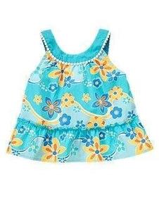 Blusa Batinha Crazy8 Importada Menina Bebê