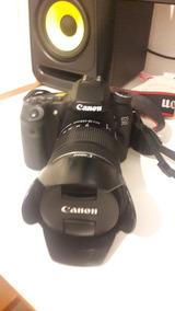 Canon 70d + 18-135 + 2 Baterias + Carregador + Parasol