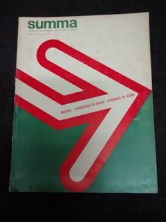 Revistas Summa - Arquitectura - Antigua Edicion