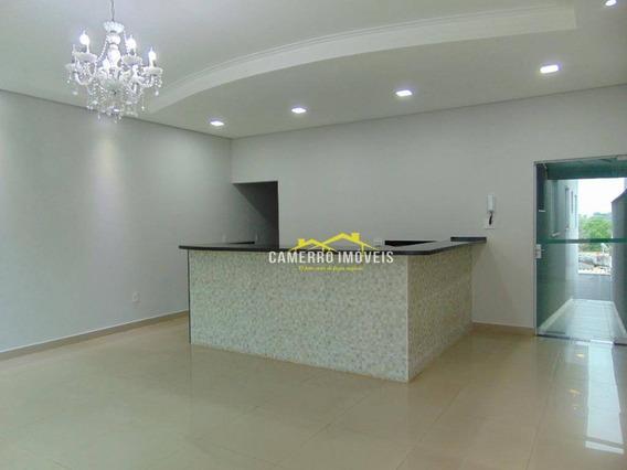 Casa Com 3 Dormitórios Para Alugar, 130 M² Por R$ 1.500,00/mês - Jardim Boer I - Americana/sp - Ca2218