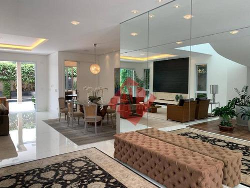 Imagem 1 de 30 de Casa Com 5 Suítesà Venda, 640 M² Por R$ 5.500.000 - Tamboré 10 - Alphaville! - Ca0385