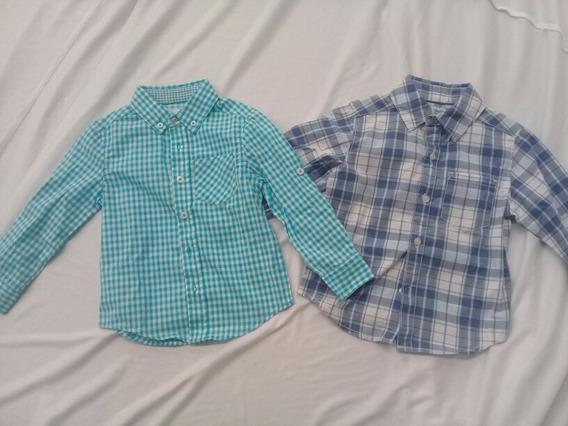 Camisa Azul Carter