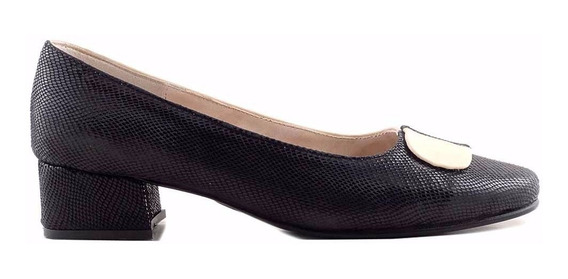 Zapato Cuero Mujer Briganti Clásico De Vestir - Mccz03468