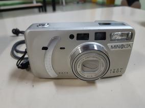 Câmera Analógica Máquina Fotográfica Minolta Zoom 160c