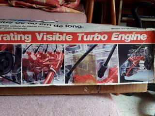 Motor A Escala 1:3 Marca Ravell De 2.3 Turbo Compresor