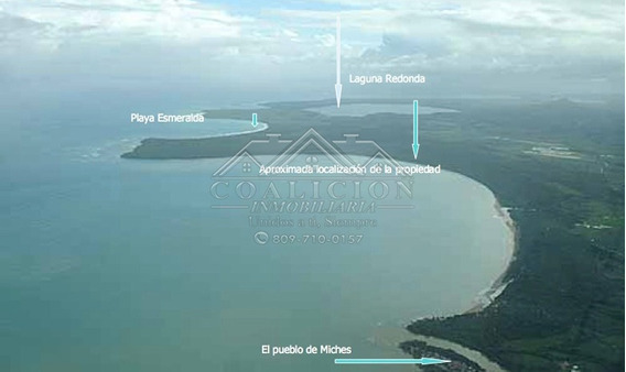 Coalición Vende Terreno 5,140 Mts2 En Miches Con Playa-