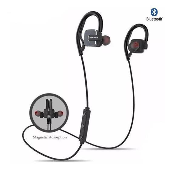 Fone De Ouvido Awei A630bl Bluetooth Sem Fio Cinza Original