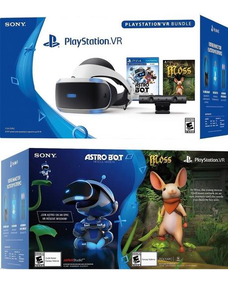 Playstation Vr V2 Bundle Astro+ Bot Moss + Câmera Cuh Zvr2