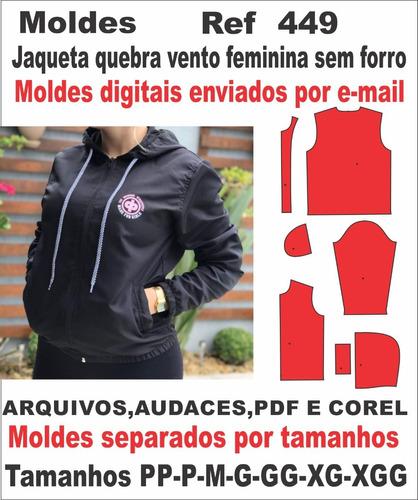 Moldes De Jaqueta Quebra Vento Feminina Sem Forro