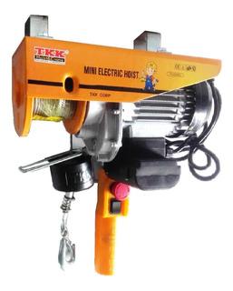Diferencial Electrica - Polipasto 250 Kg 12 Metros 110 V