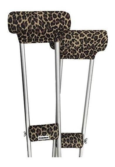 Crutcheze Leopardo Muleta De Pastillas De - Bajo Los Brazos