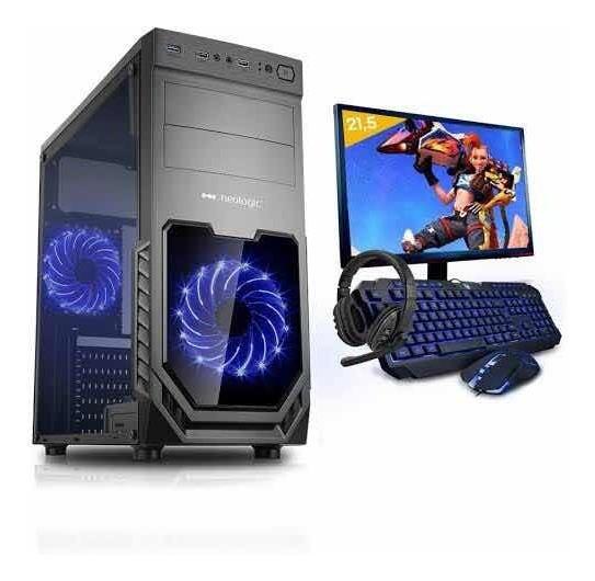 Pc Gamer Completo Neologic Start Nli81450 Ryzen 3 2200 G 8gb