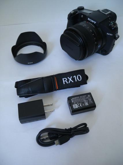 Câmera Sony Rx10 Ii M2 4k 24-200mm F/2.8 Excelente Condição