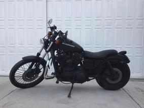 Harley Sportster Negro