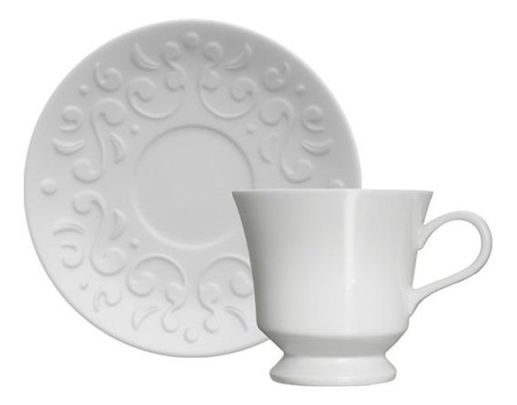Xícara Para Café Em Porcelana Germer Tassel Branca