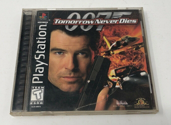 Ps1 - 007 Tomorrow Never Dies - Original Sem Riscos