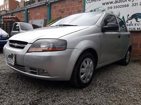 Chevrolet Aveo 1.600 2012 Negro