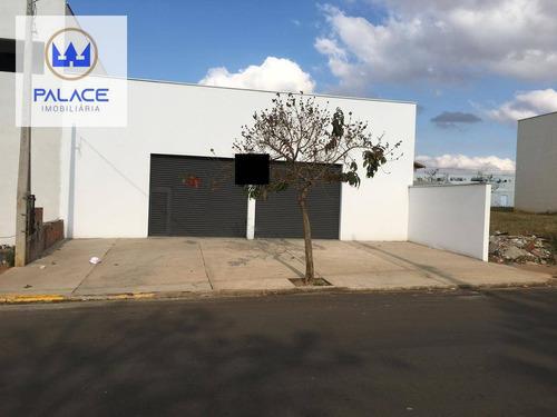 Salão Para Alugar, 282 M² Por R$ 5.500,00/mês - Santa Terezinha - Piracicaba/sp - Sl0036