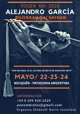 Bjk Yügen Kai 2020 - Dai Shihan Alejandro García