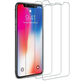 3 Pack Mica Cristal Templado Premium iPhone X / Xs