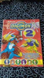 Album De Figuritas Digimon 2 Incompleto Navarrete