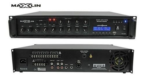 Amplificador Ambiental Maxlin De 6 Zonas 120w