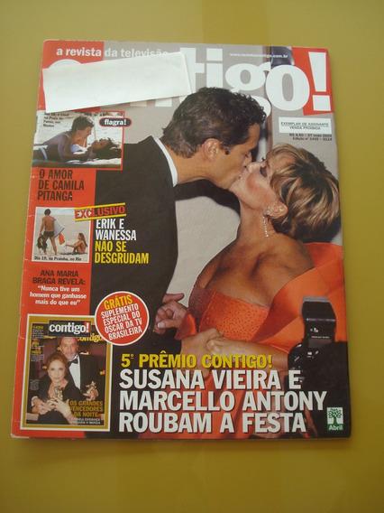 Revista Contigo Susana Vieira Ana Maria Braga Camila Pitanga
