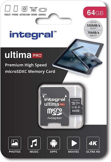 Micro Integral Ultimapro V30 De 64 Gb (sdxc)original100 Mb/s