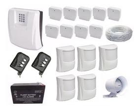 Kit Central De Alarme Gsm1000 Sulton + Bateria + Sensores
