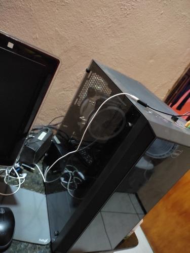 Imagem 1 de 4 de Computador Xeon 2630l V3 X99 16 Gb De Ram Com Rx 570 Amd